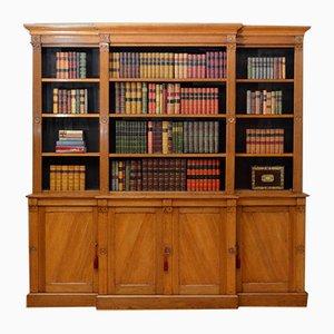 Viktorianisches gotisches Bücherregal aus Eichenholz