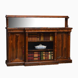 Antikes Regency Sideboard oder Bücherregal aus Palisander