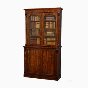 Viktorianisches Bücherregal aus Palisander