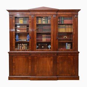 Bibliothèque William IV en Acajou