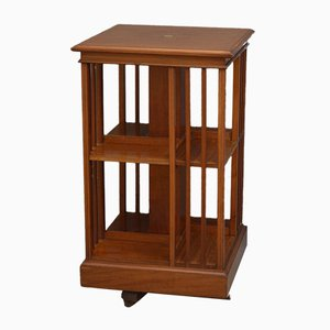 Tall Edwardian Revolving Bookcase