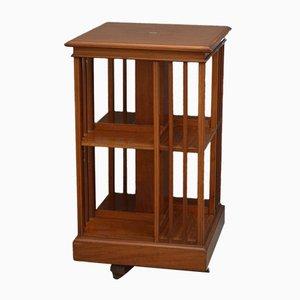 Tall Edwardian Revolving Bookcase