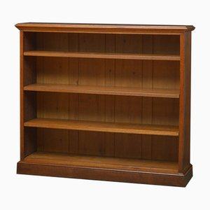 Victorian Open Solid Oak Bookcase from Jas. Shoolbred