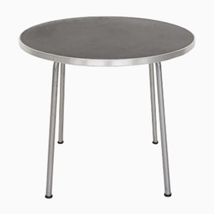 Round Industrial Model 501/3601 Side or Coffee Table from Gispen, 1950s