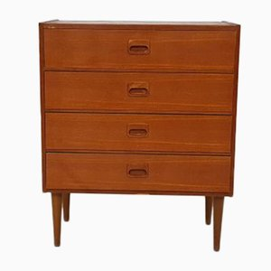 Commode Mid-Century en Teck, Pays-Bas, 1960s