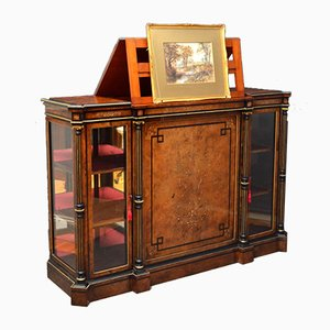 Antique Credenza with Picture Stand