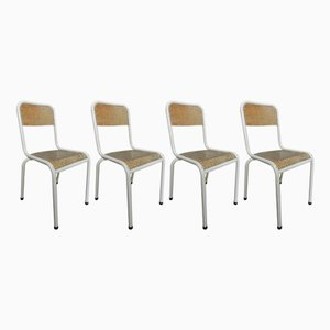 School Chairs, 1960s, Set of 4
