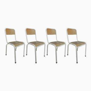 Sedie da scuola, anni '60, set di 2