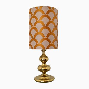 Golden Table Lamp, 1970s