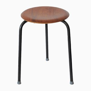 Mid-Century Modern Danish Dot Stool by Arne Jacobsen for Fritz Hansen