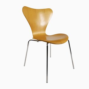 No. 3107 Butterfly Chairs by Arne Jacobsen for Fritz Hansen, 1990s, Set of 2