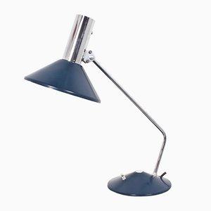 Lampe de Bureau Vintage en Métal Bleu de HELO Leuchten, 1960s