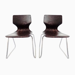 Highchairs by Adam Stegner for Flötotto, 1970s, Set of 2