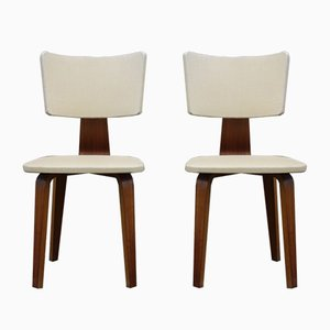 Dining Chairs by Cor Alons & J.C. Jansen for Gouda den Boer, 1950s, Set of 2