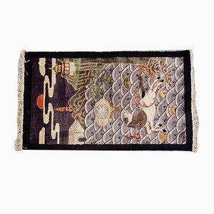 Chinese Silk Rug, 1950s
