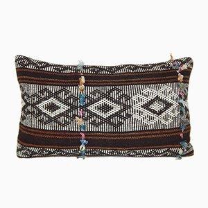 Kelim Kissenbezug mit Ziegenhaar von Vintage Pillow Store Contemporary