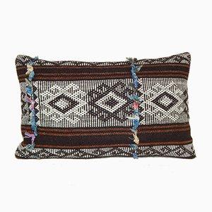 Türkischer Kelim Kissenbezug mit Ziegenhaar von Vintage Pillow Store Contemporary