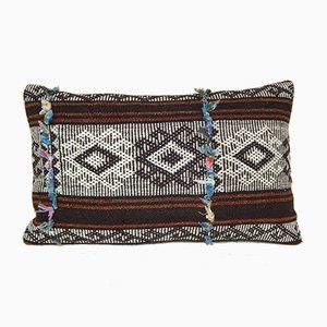 Turkish Goat Hair Kilim Pillow Cover from Vintage Pillow Store Contemporary