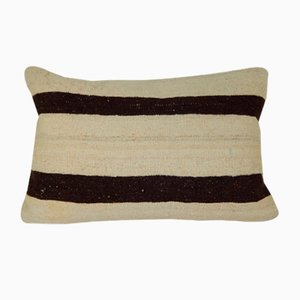 Stripe Pattern Kilim Pillow Cover from Vintage Pillow Store Contemporary