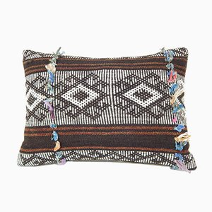 Turkish Goat Hair Kilim Pillow Cove from Vintage Pillow Store Contemporary