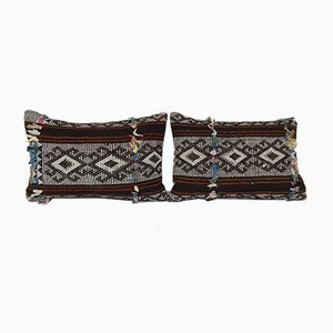 Housses de Coussin Kilim Traditionnelles de Vintage Pillow Store, Turquie, Set de 2