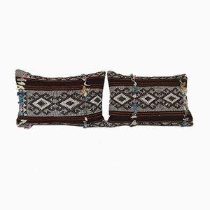 Türkische Kelim Kissenbezüge mit traditionellem Muster von Vintage Pillow Store Contemporary, 2er Set