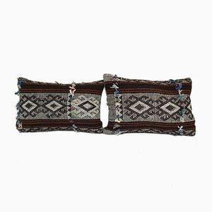 Türkischer Kelim Kissenbezüge von Vintage Pillow Store Contemporary, 2er Set