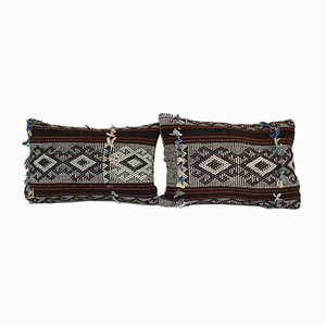 Turkish Kilim Pillow Cove from Vintage Pillow Store Contemporary, Set of 2