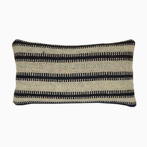 Gestreifter türkischer Kelim Kissenbezug von Vintage Pillow Store Contemporary