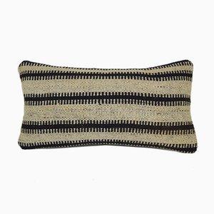 Funda de cojín a rayas con decoración turca étnica tribal de Vintage Pillow Store Contemporary