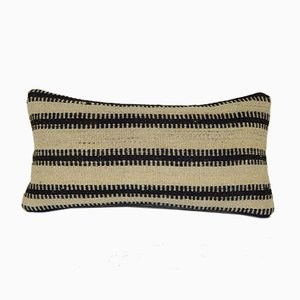 Handmade Striped Turkish Lumbar Pillow Cover from Vintage Pillow Store Contemporary