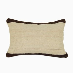 Anatolian Handmade Lumbar Kilim Pillow Cover from Vintage Pillow Store Contemporary