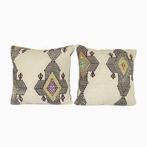 Traditional Kilim Pillow Covers from Vintage Pillow Store Contemporary, Set of 2