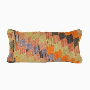 Diamond Turkish Kilim Pillow Cover from Vintage Pillow Store Contemporary