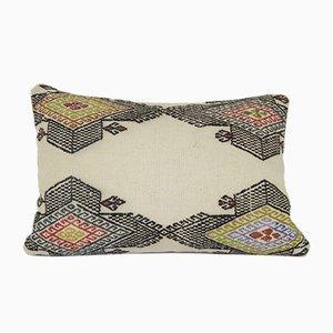Schlichter Kelim Stützkissenbezug von Vintage Pillow Store Contemporary