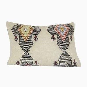 Türkischer Kelim Stützkissenbezug von Vintage Pillow Store Contemporary