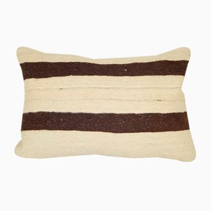 Striped Turkish Lumbar Pillow Cover from Vintage Pillow Store Contemporary