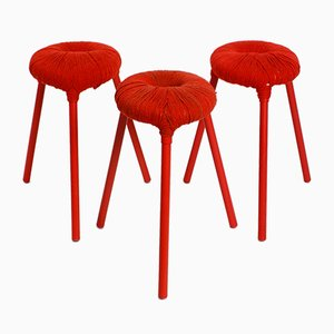 Eskilstuna Stools by Findlay, Graeme, McElroy and Carmen for Ikea, 1990s, Set of 3