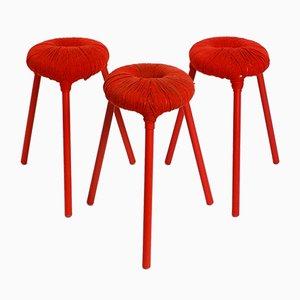 Tabourets Eskilstuna par Findlay, Graeme, McElroy et Carmen pour Ikea, 1990s, Set de 3