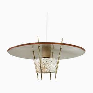 Pendant Light by Ernest Igl for Hillebrand Lighting, 1950s
