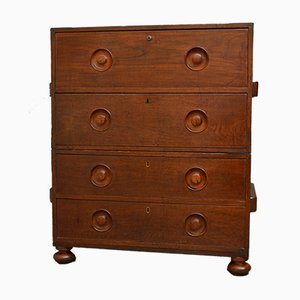 Early 19th Century Secretaire Military Chest