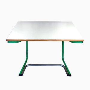 Space Age Green Drawing Desk by Joe Colombo for Bieffeplast, 1970s
