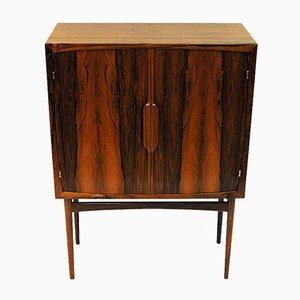 Mueble bar noruego Mid-Century de palisandro de Torbjørn Afdal para Bruksbo, años 50