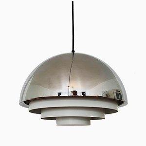 Lámpara colgante Milieu Midi de Johannes Hammerborg para Fog & Mørup, años 60