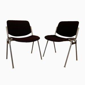 DSC 106 Stühle von Giancarlo Piretti für Castelli, 1960er, 2er Set