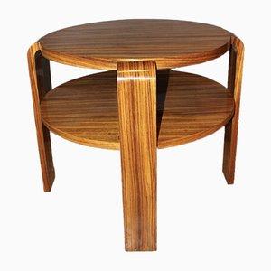 Vintage Art Déco Tisch aus Palisander, 1930er