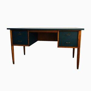 Mid-Century Teak Pedestal Desk by Neil Morris for Morris of Glasgow, 1960s