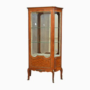 Antique French Rosewood Display Cabinet