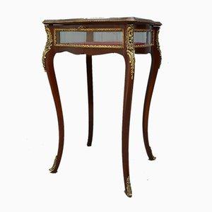 Antique Edwardian Mahogany Bijouterie Display Table