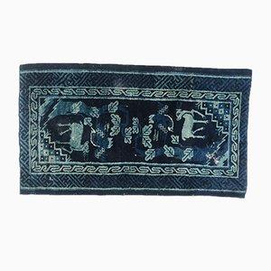 Antiker tibetischer Teppich